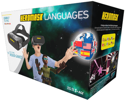 Heromask Languages packaging